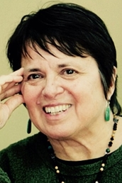 author Cherríe Moraga profile image - Click to open Featured Author panel