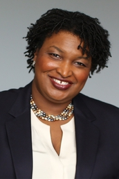 author Stacey Abrams  profile image - Click to open Featured Author panel
