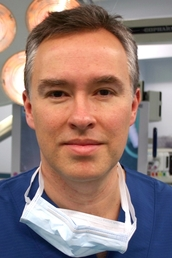 author Arnold van de Laar Laproscopic surgeon profile image - Click to open Featured Author panel