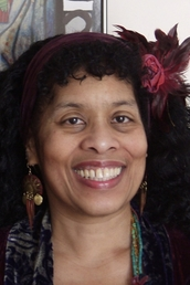 author Andrea Hairston profile image - Click to open Featured Author panel