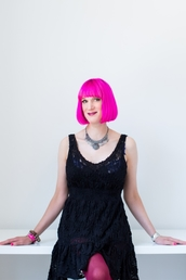 author Charlie Jane Anders profile image - Click to open Featured Author panel