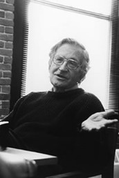 author Noam Chomsky profile image - Click to open Featured Narrator panel