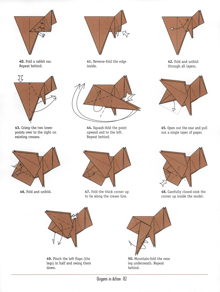 Easy Origami Paper Dragon