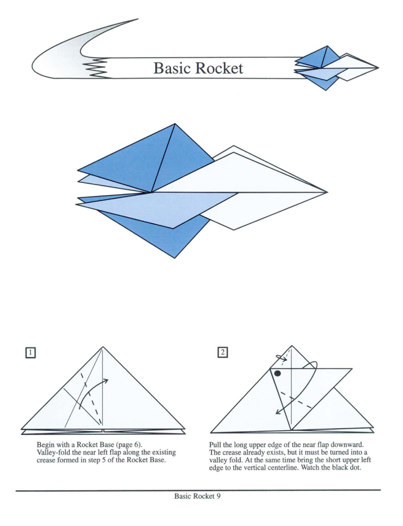 Origami rockets lew rozelle macmillan origami rockets spinners zoomers floaters and more presents how to create inflatable paper folding projects that actually take jeuxipadfo Image collections