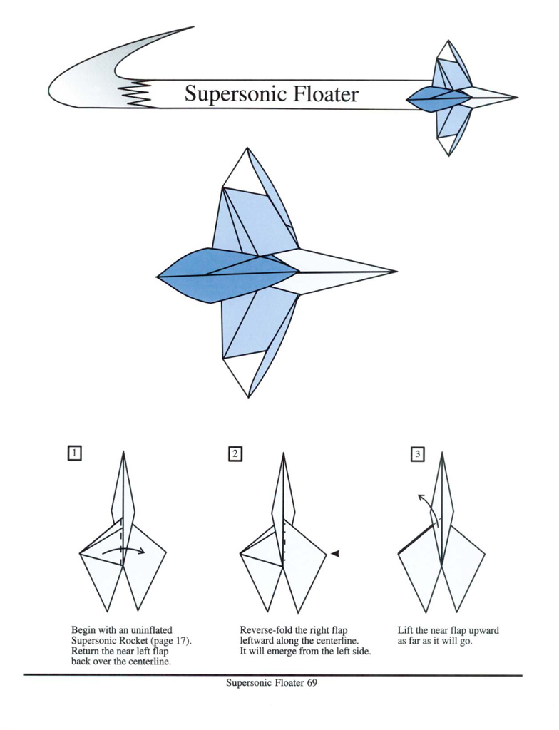 how to make origami rocket step by step
