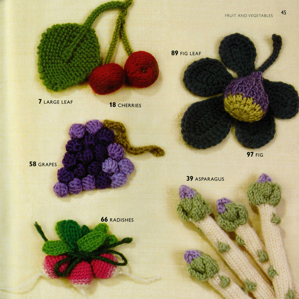 100 Flowers to Knit & Crochet Lesley Stanfield