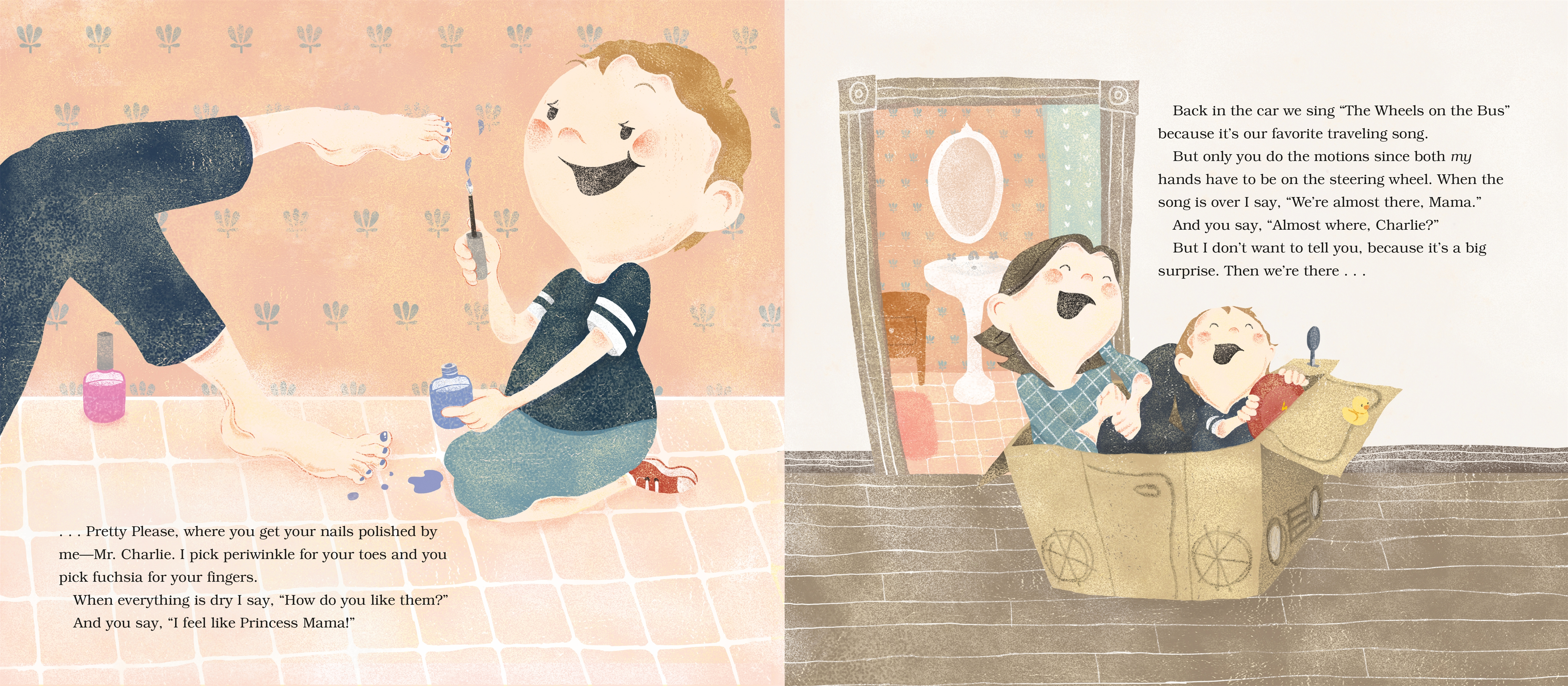 Interior book image for If I Could Drive, Mama