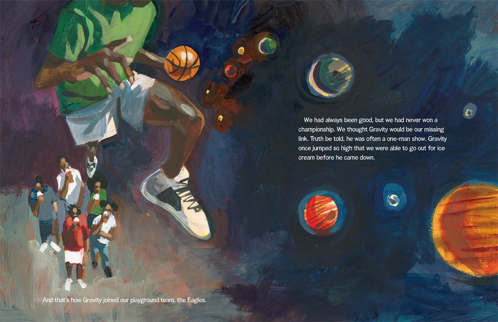 Interior book image for The Legend of Gravity