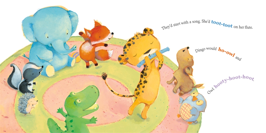 Interior book image for If Animals Went to School