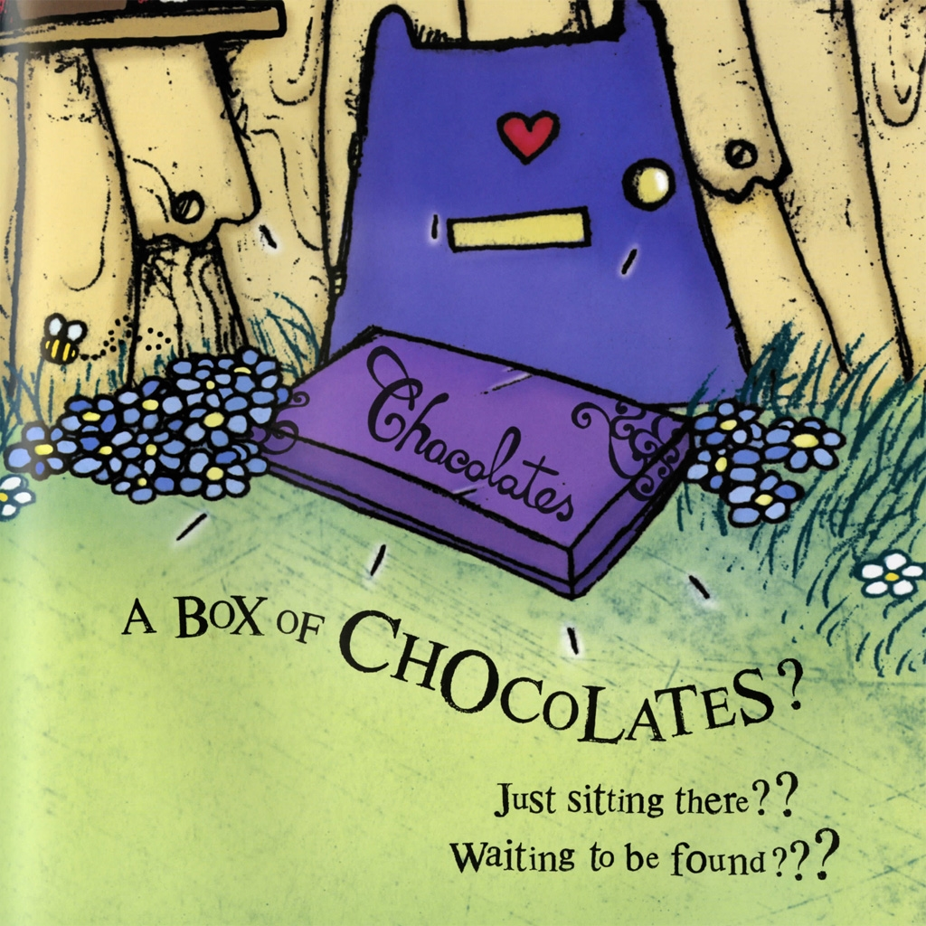 Interior book image for Love Monster and the Last Chocolate