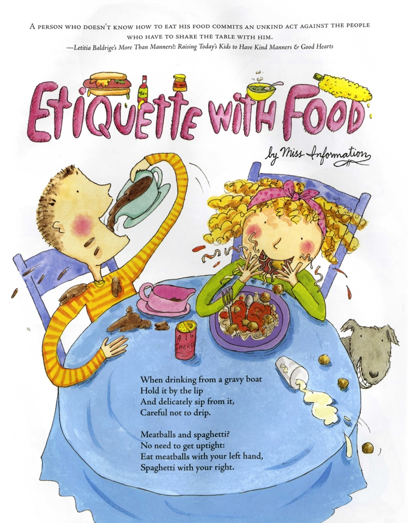 Don't Forget Your Etiquette! | David Greenberg | Macmillan