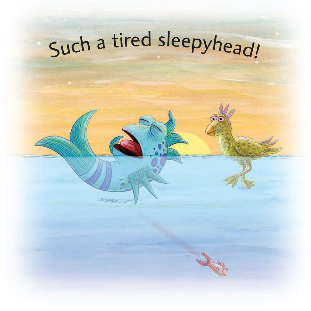 Interior book image for Sweet Dreams, Pout-Pout Fish