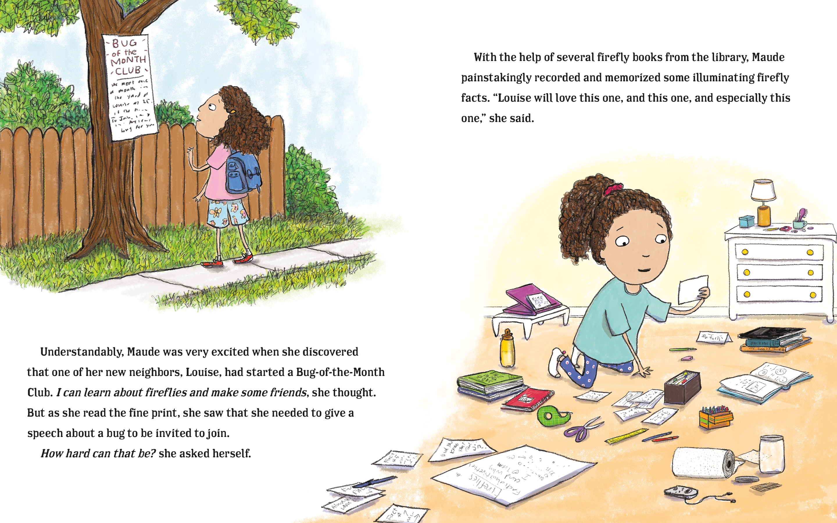 Interior book image for Bug Off!