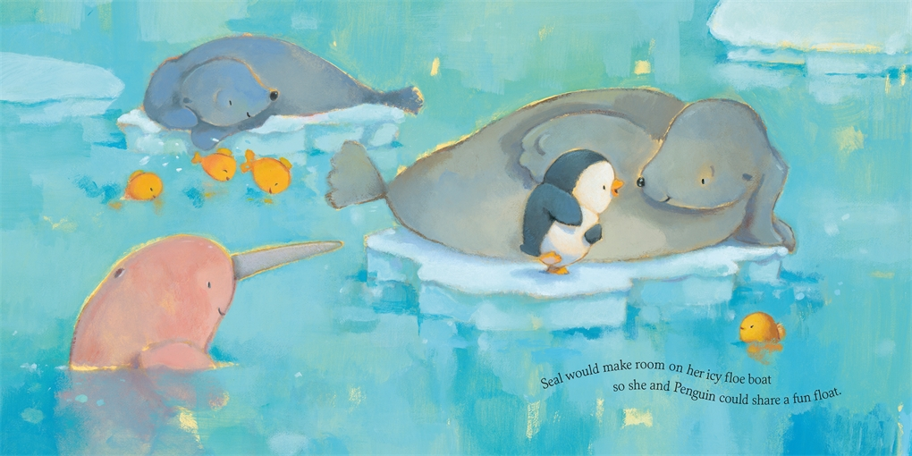 Interior book image for If Animals Tried to Be Kind