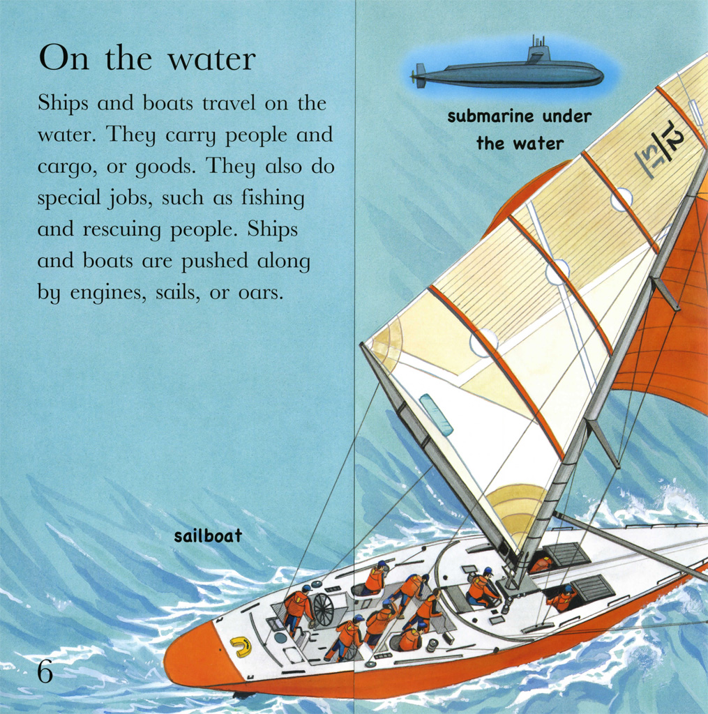 Interior book image for Flip the Flaps: Things That Go!