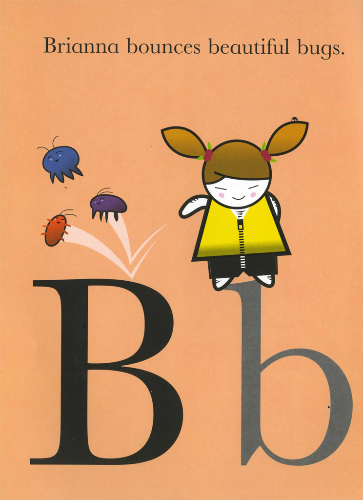 Interior book image for Basher: ABC Kids