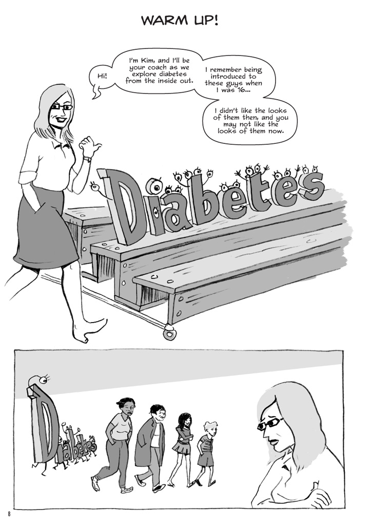 Interior book image for Diabetes and Me
