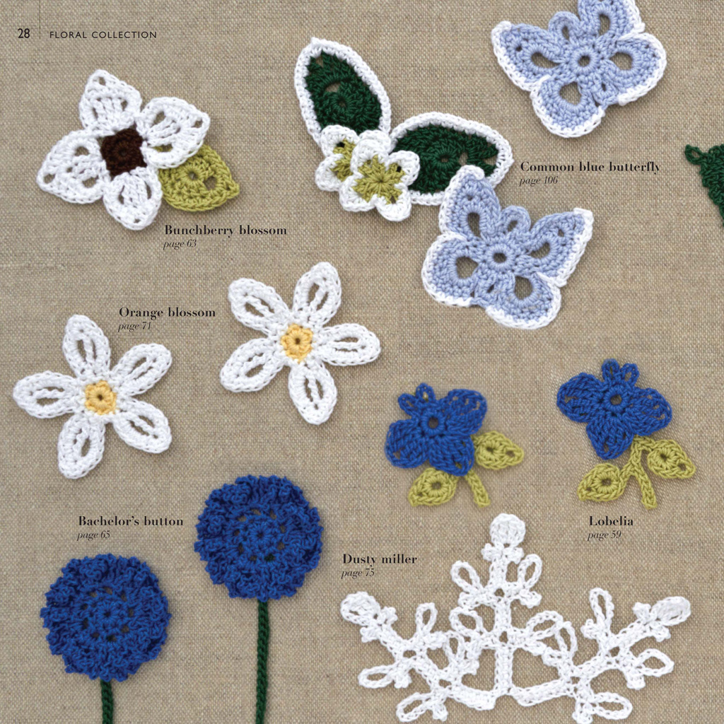 100 lace flowers to crochet caitlin sainio macmillan re create the beauty of a summer garden with this gorgeous selection of flowers leaves and plants to crochet from lacy blossoms to delicate ferns izmirmasajfo
