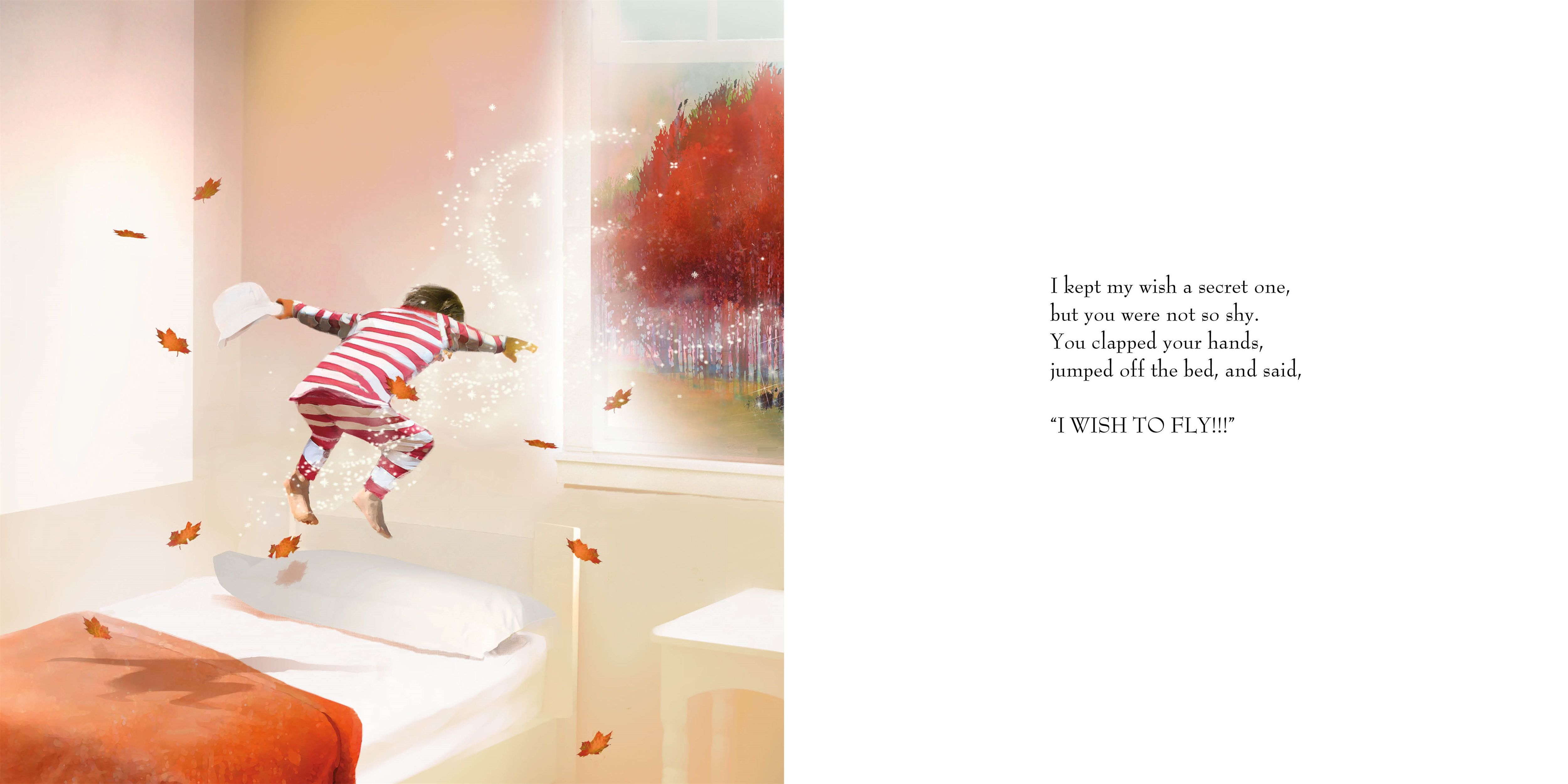 Interior book image for You and Me and the Wishing Tree