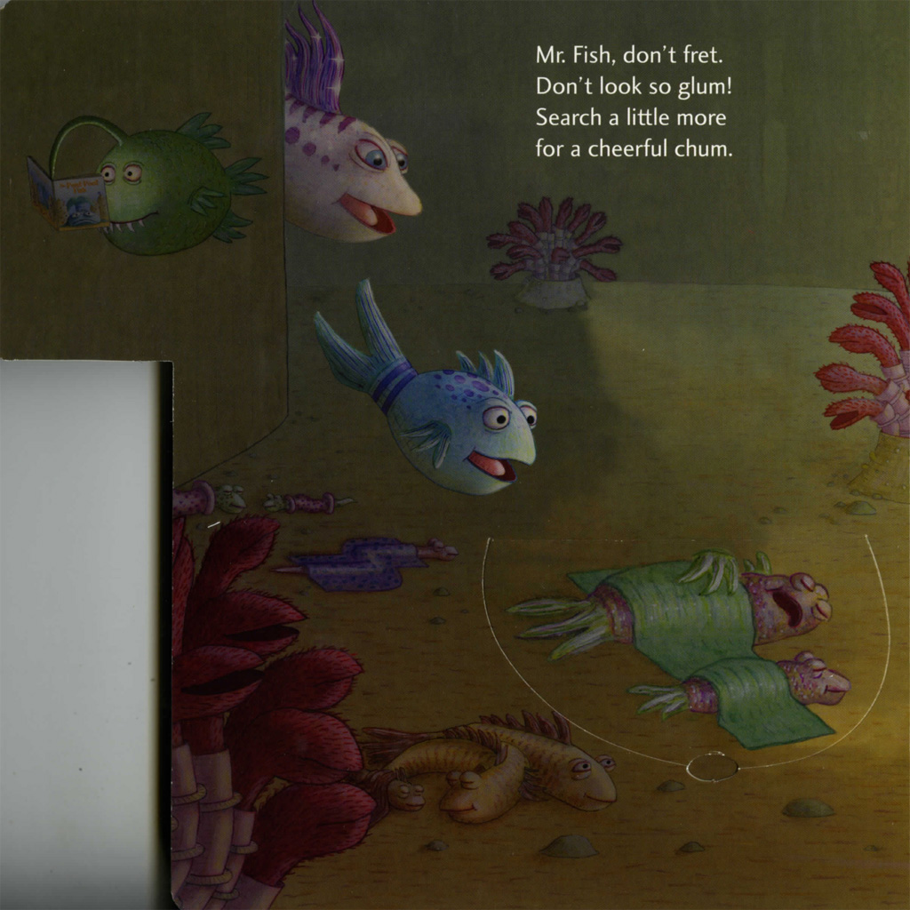 Interior book image for Lift-the-Flap Tab: Hide-and-Seek, Pout-Pout Fish