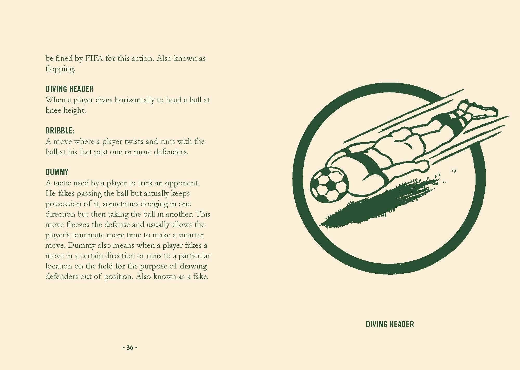 Interior book image for How to Speak Soccer
