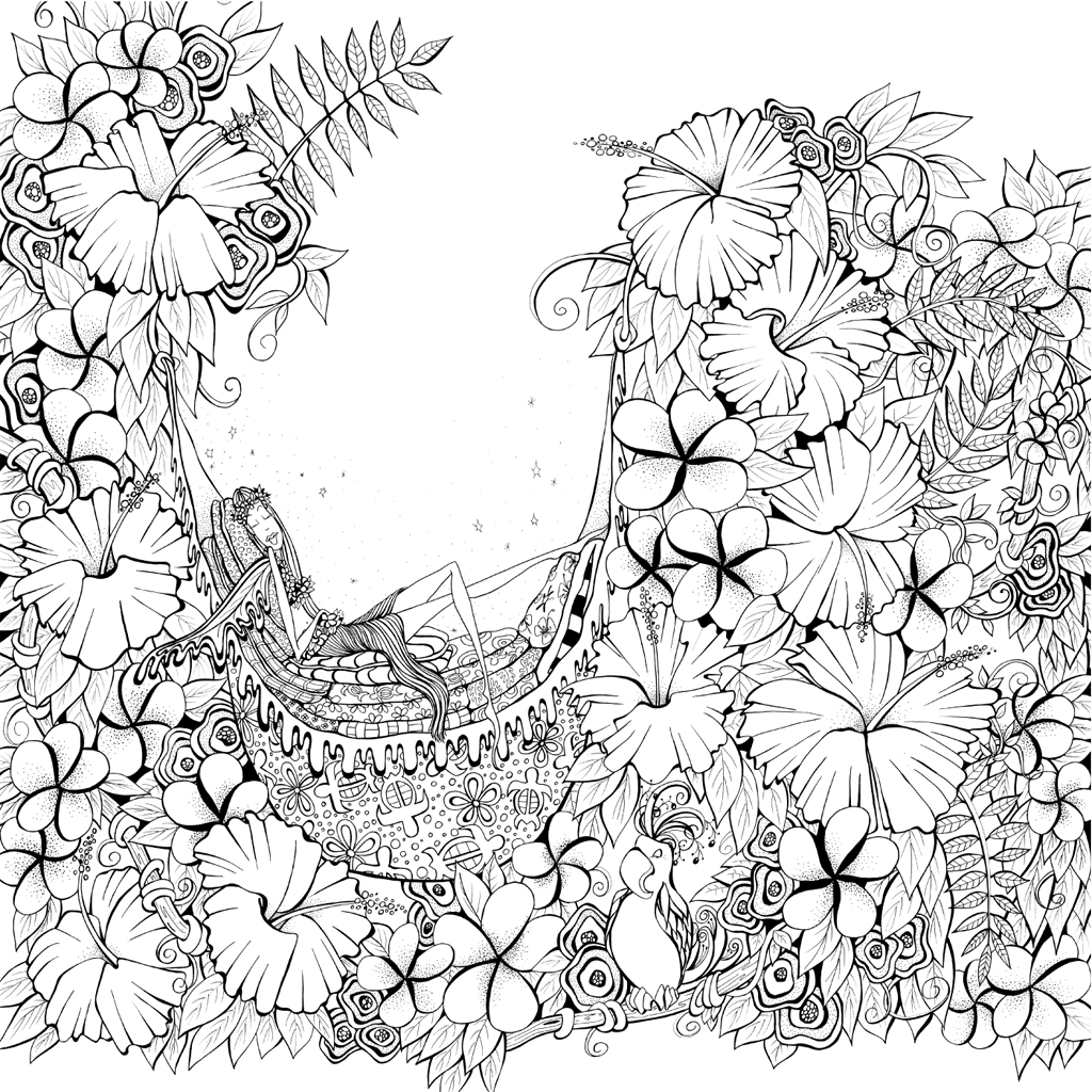 Zendoodle Coloring Presents Fairies In Dreamland Denyse