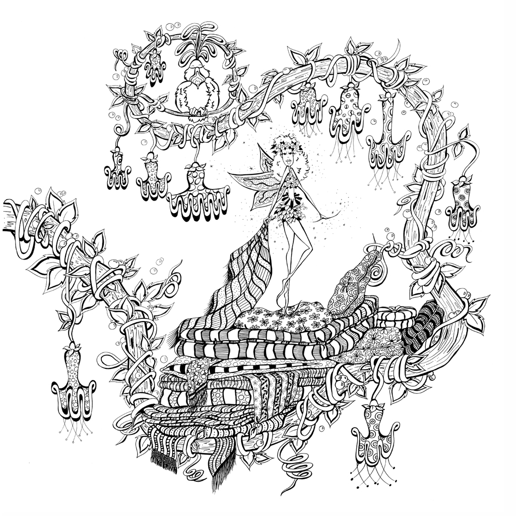zendoodle coloring presents fairies in dreamland denyse klette