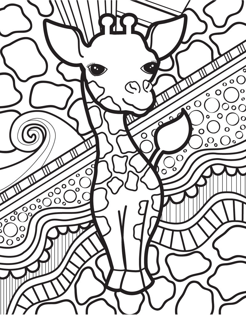 Color The Bliss Of Cuddly Creatures