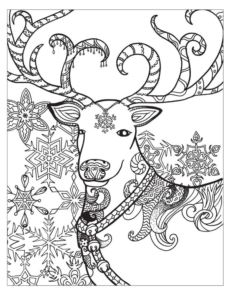 coloring pages of winter - zendoodle coloring winter wonderland jodi best macmillan