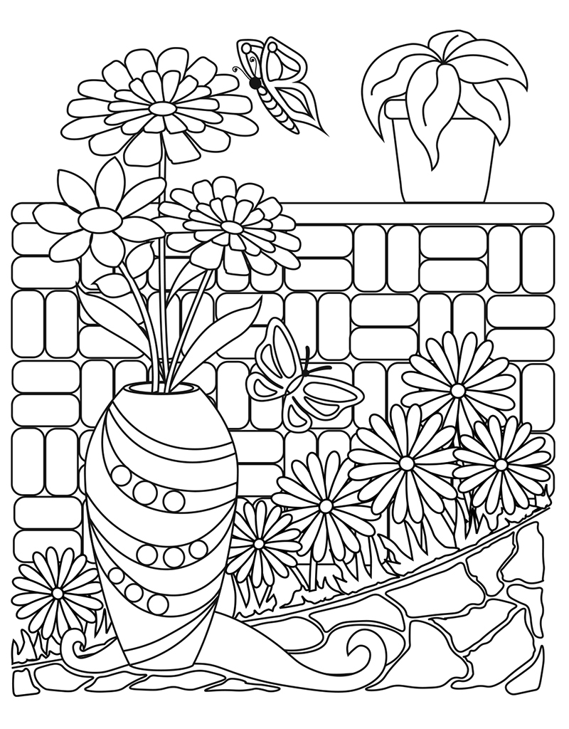 Zendoodle Coloring Big Picture