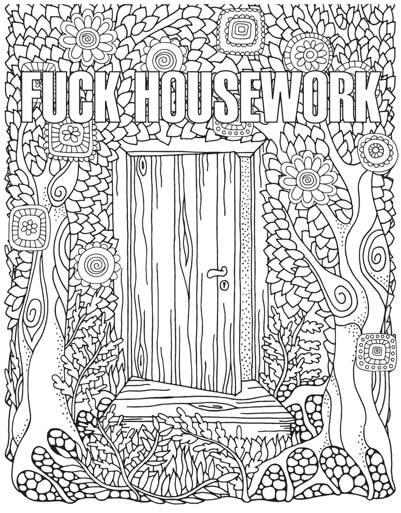 The Swear Word Coloring Book Hannah Caner Macmillan
