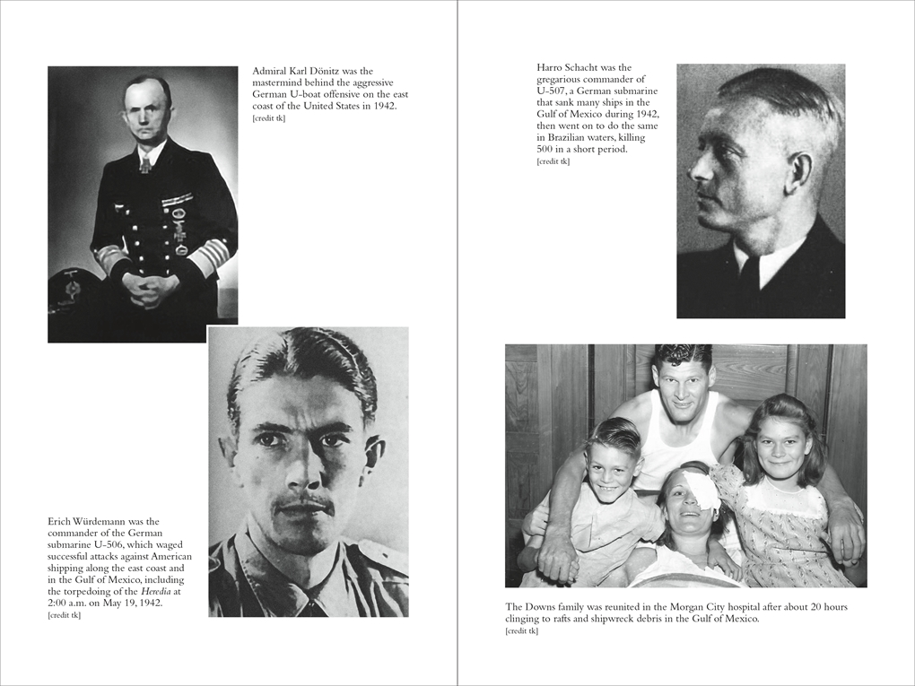 Interior book image for Attacked at Sea