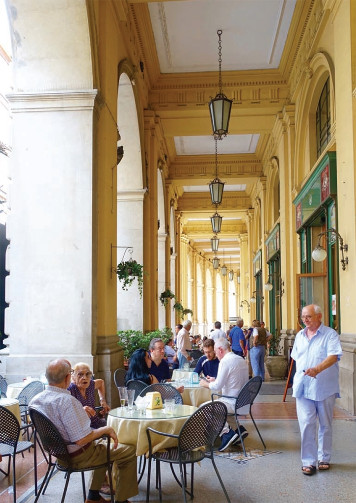 Interior book image for Eating My Way Through Italy