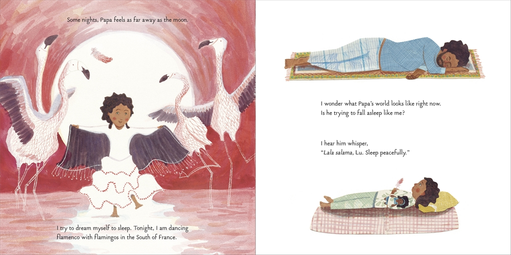 Interior book image for Papa Brings Me the World