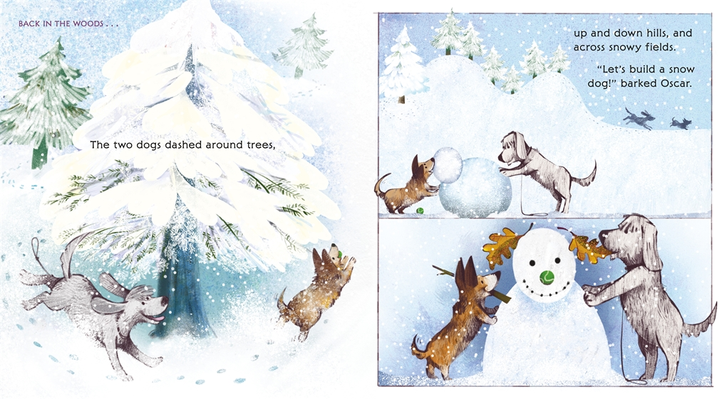 Interior book image for Snow Friends
