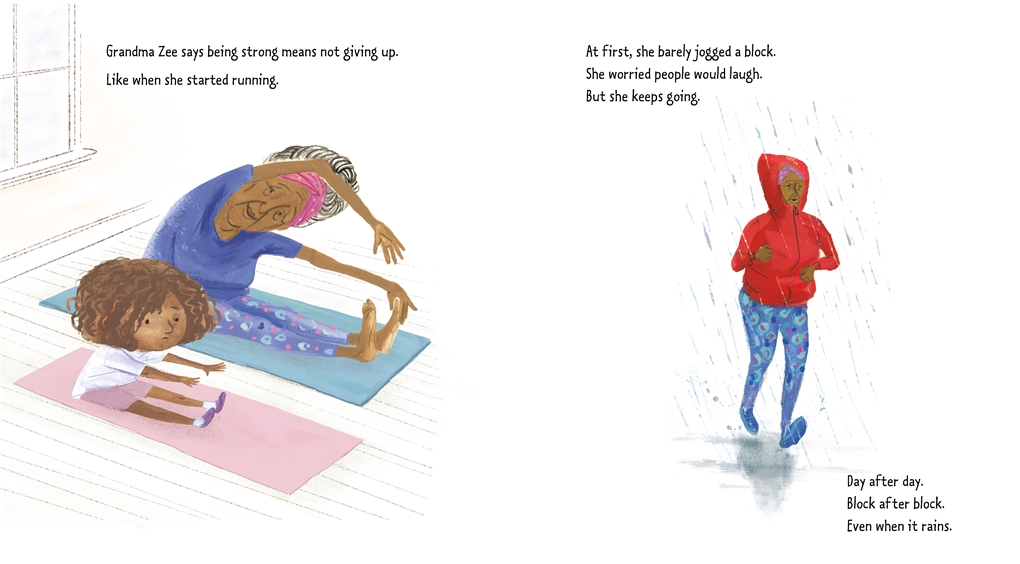 Interior book image for Be Strong