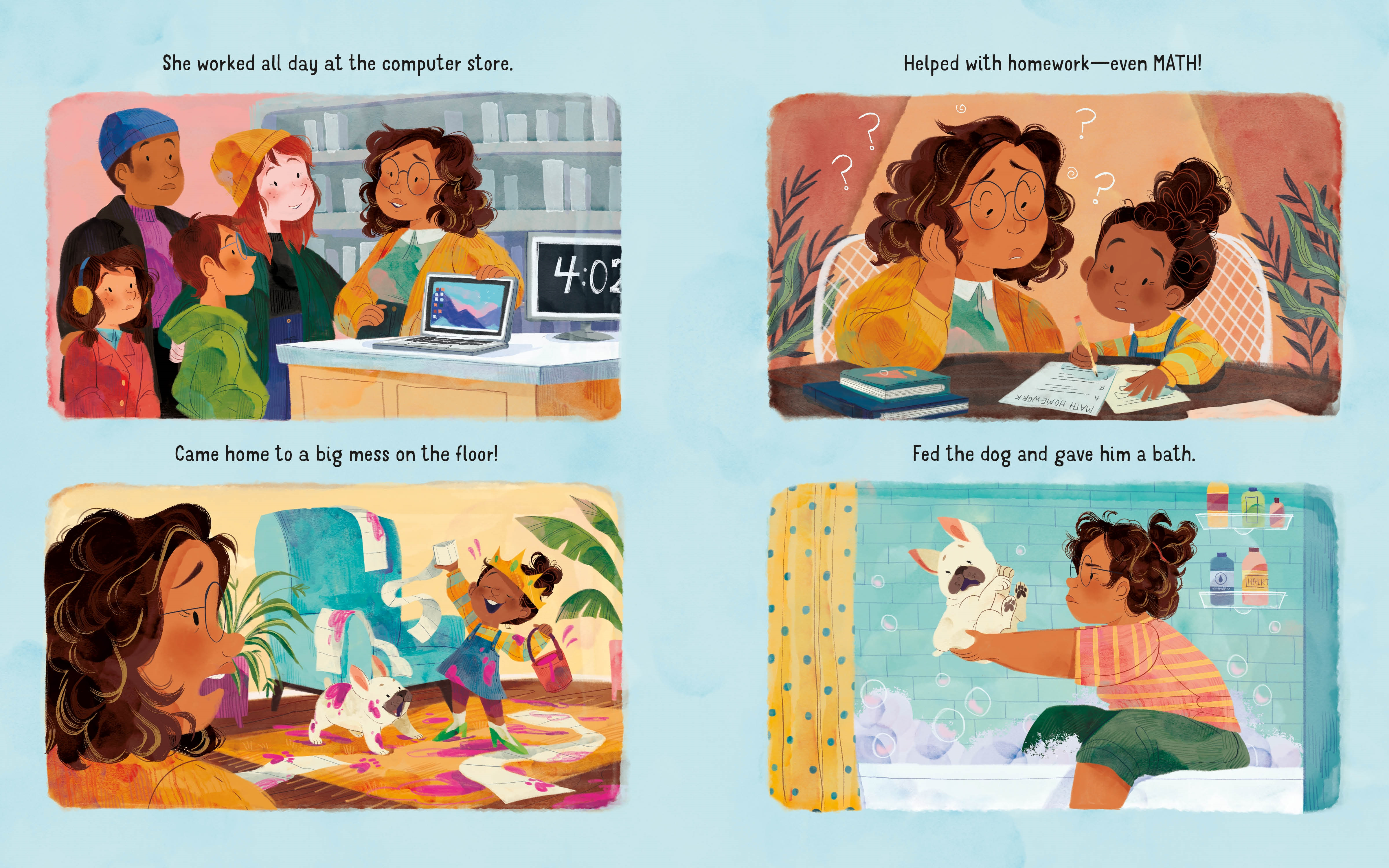 Interior book image for You Be Mommy
