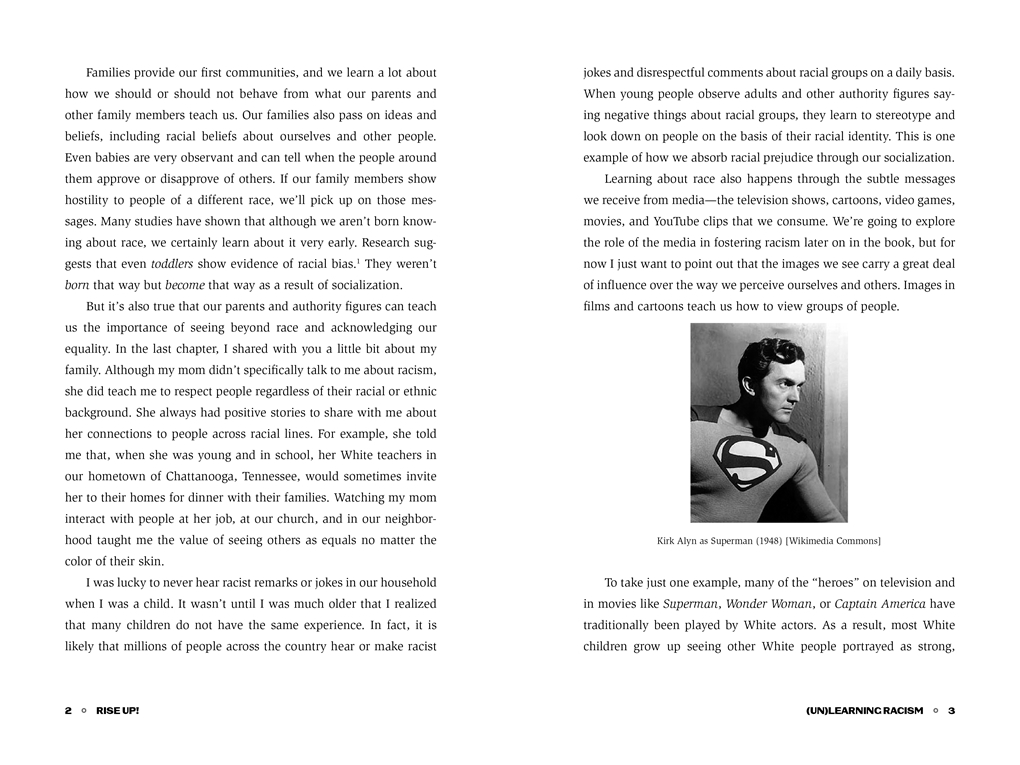 Interior book image for Rise Up!