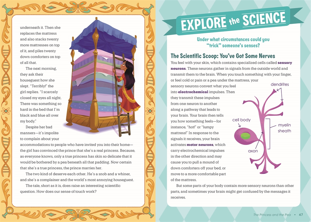 Interior book image for Fairy Tale Science