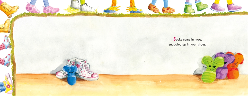 Interior book image for Sock on the Loose