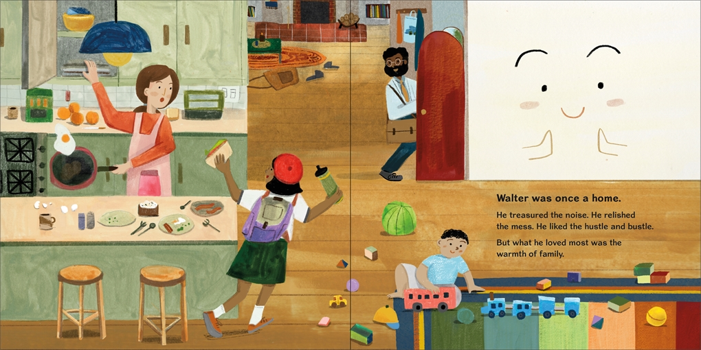 Interior book image for A Home Named Walter