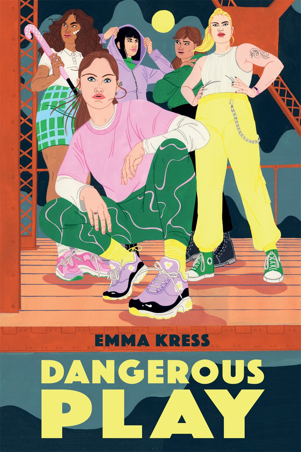 Interior book image for Dangerous Play
