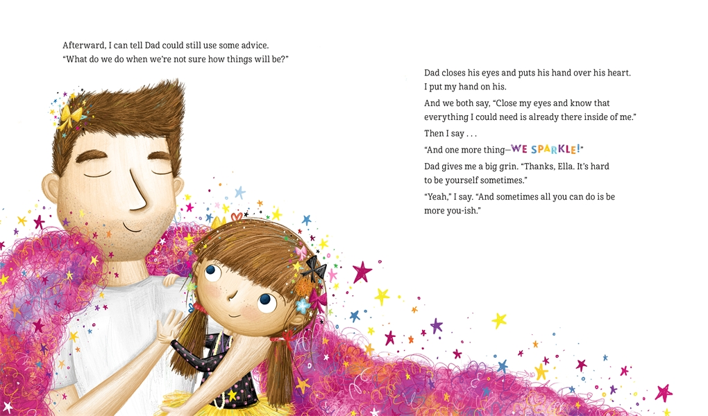 Interior book image for The One and Only Sparkella