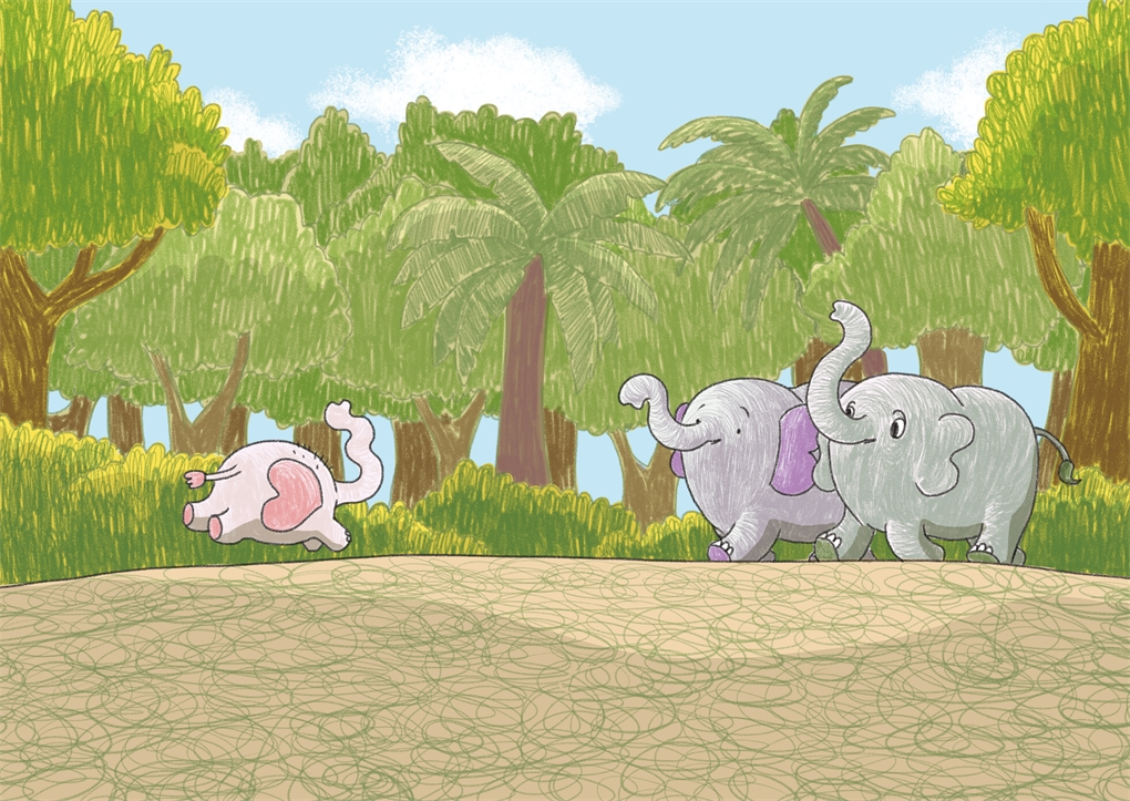 Interior book image for Surviving the Wild: Star the Elephant