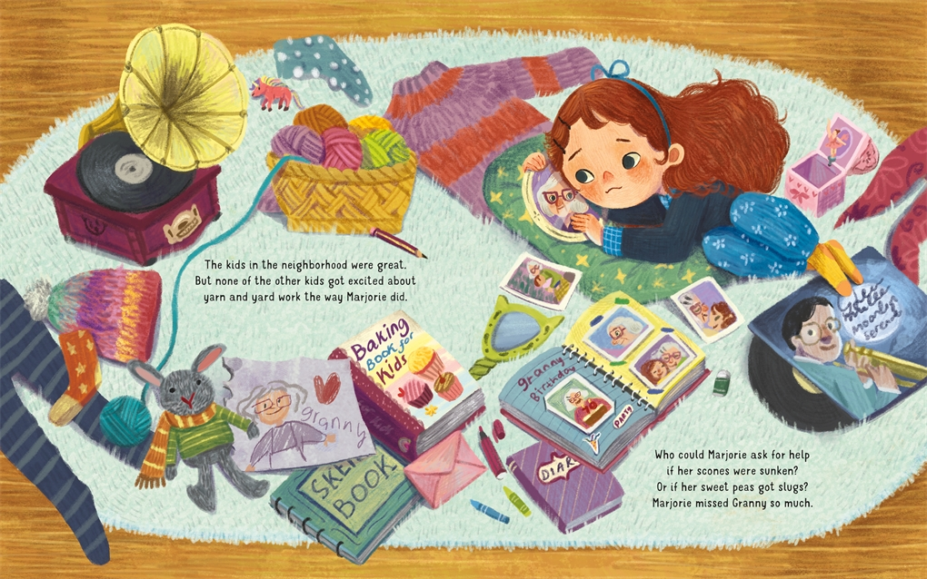 Interior book image for Old Friends