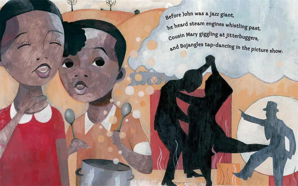 Interior book image for Before John Was a Jazz Giant