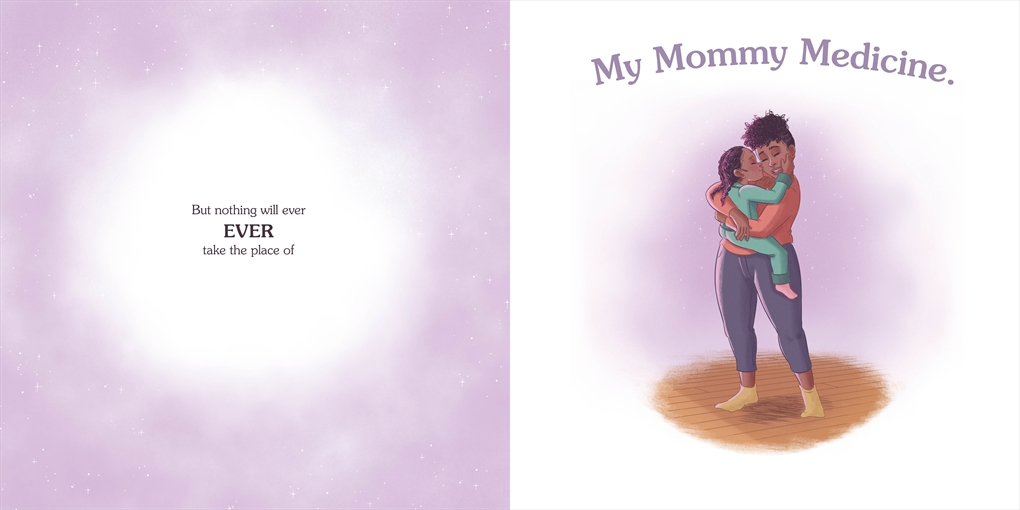 Interior book image for My Mommy Medicine