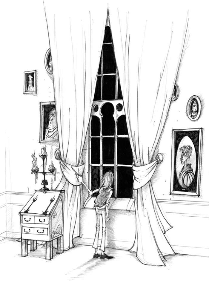 Interior book image for The Icy Hand