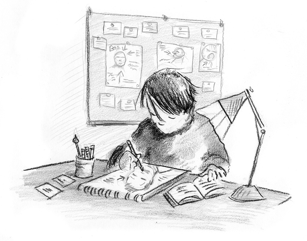 Interior book image for Spilling Ink: A Young Writer's Handbook
