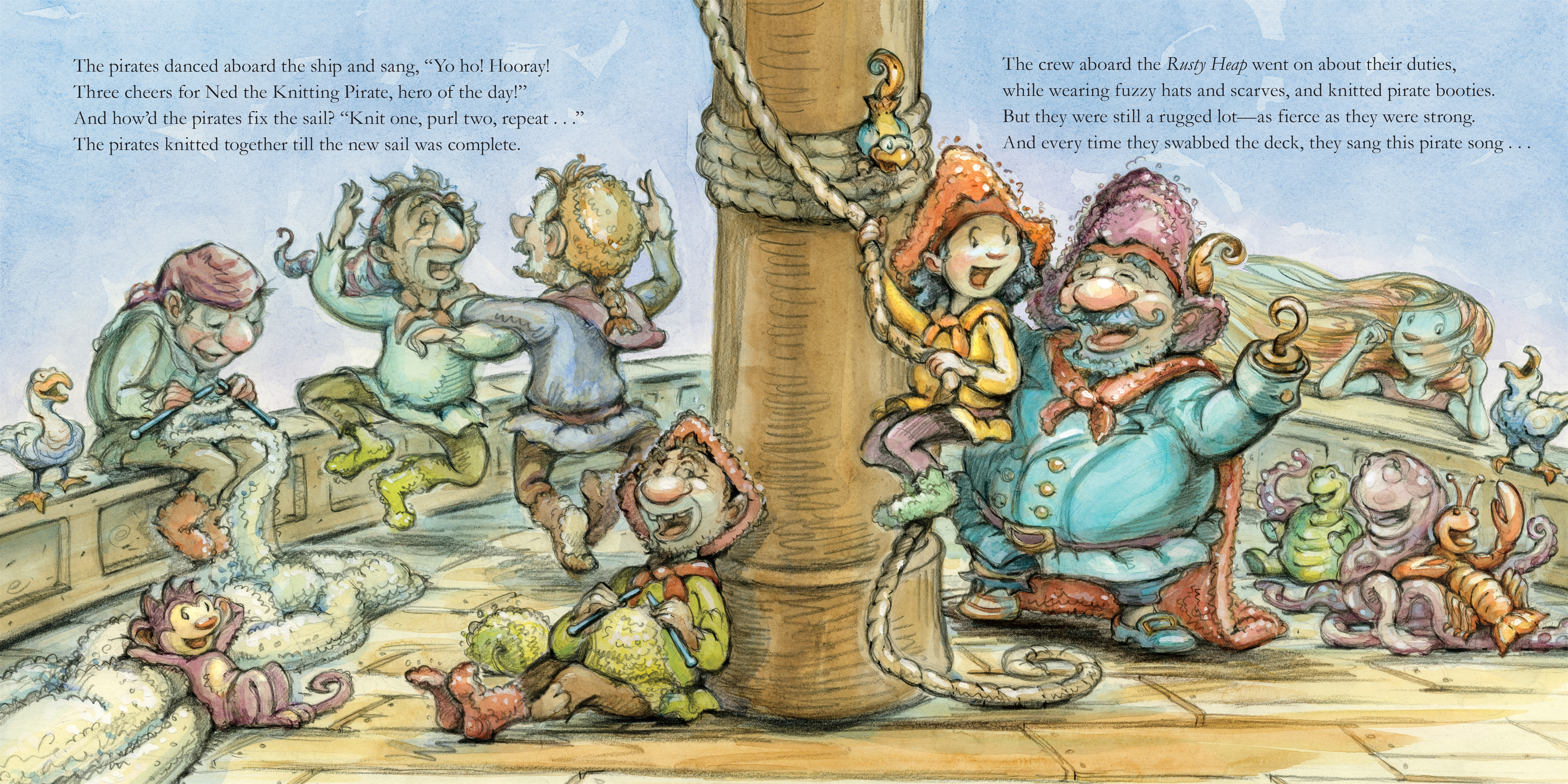 Ned the Knitting Pirate | Diana Murray | Macmillan